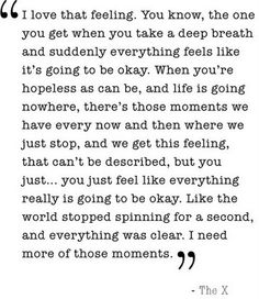 breathe . . .  everything will be ok