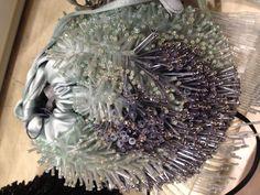 Borsa con ricamo d'alghe e vegetazione marina - Alberta Ferretti