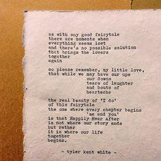 Wedding Poem | Tyler Kent White | Porcelain and Posies