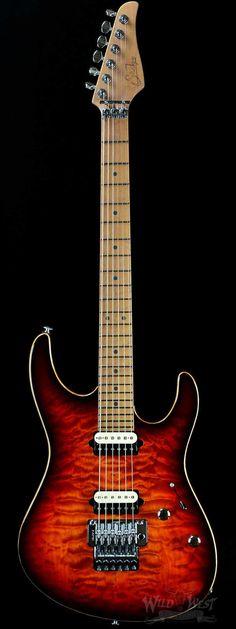 Suhr Custom Modern Inferno Burst - Wild West Guitars