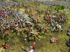 History in 1/72: More photos from Thomas' Waterloo diorama
