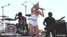 Miley Cyrus: Nach der Trennung Zusammenbruch auf der Bühne
