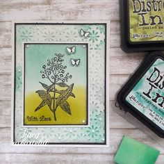 With Love 💚 . . . #stampinupcards #distressink #cardmakinghobby #cardmakingfun #cardcrafting #korttiaskartelu #askartelua #leimasinkortti… Distress Ink, Stampin Up Cards, I Card, Card Making, Create, Fun, Home Decor, Decoration Home, Room Decor