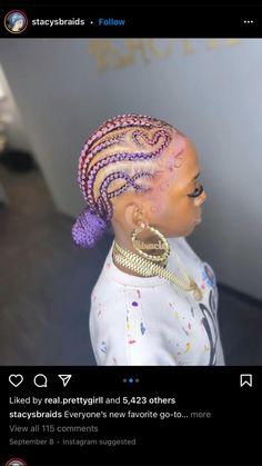 Braided Hairstyles For Black Women Cornrows, Feed In Braids Hairstyles, Baddie Hairstyles, Braids For Black Hair, Black Women Hairstyles, Weave Hairstyles, Black Girl Braids, Protective Hairstyles, Protective Styles