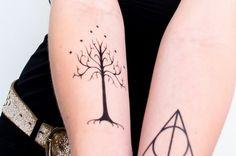 15+ Awesome Tree of Gondor Tattoo Ideas
