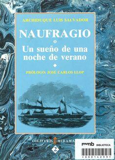 Naufragio o un sueño de una noche de verano / Archiduque Luis Salvador