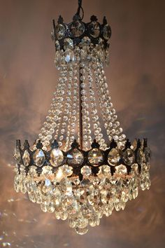 Free Express Delivery Large Bronze Waterfall Antique French Vintage Crystal Chandelier Lamp Old Art Nouveau Lighting Classic Light Fittings Free Express Delivery Large Bronze Waterfall Antique French French Empire Chandelier, Vintage Crystal Chandelier, Mid Century Chandelier, Antique Chandelier, Chandelier Lighting, Crystal Chandeliers, Victorian Chandeliers, Chandelier Ideas, Bronze Chandelier