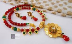 New Design of Necklaces by Violetsz. Complete Collection Available at: http://www.indiebazaar.com/shop/violetsz/jewellery-sets