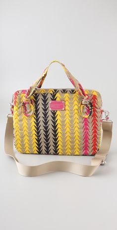 marc by marc laptop bag. >> Loving this pattern