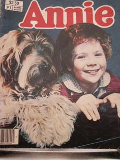 Comic Book based on the 1982 Annie movie