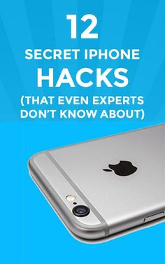 12 Secret iPhone Hacks (that even Experts don't know about)