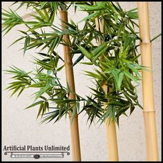 Outdoor Artificial Bamboo, Individual Cane - hand crafted and realistic faux bamboo canes