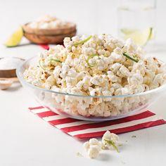 Maïs éclaté à la noix de coco et lime - Les recettes de Caty Wontons, Nutrition, Potato Salad, Recipies, Potatoes, Ethnic Recipes, Magazines, Desserts, Pop Corn
