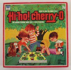 Vintage Toy 1972 Whitman Hi HO Cherry O Board Game Classic Cherry Picking | eBay