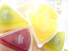 Cute bite-sized fruit jellies available from Sapporo