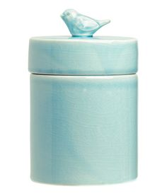 Ceramic jar with a lid | Product Detail | H&M