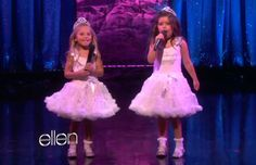 The cousins looked like old hands as they returned for an interview with Ellen and a performance of another song by their favourite singer. Nicki Minaj Number, Nicki Minaj Starships, Youtube Sensation, The Ellen Show, You Make Me Laugh, Old Hands, Book Tv, Girl Dolls, American Girl