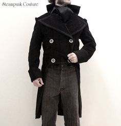 Sherlock tailcoat from Steampunk Couture