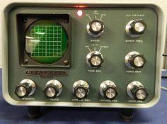 Vintage Heathkit SB-610 Monitor Scope HAM Amature Radio Equipment