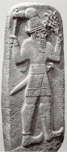 Hittite, weather god, Babylon,İstanbul Archaeology Museum  (Kurt Bittel) (Erdinç Bakla)