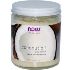 iHerb.com - Comentarios de Clientes -Now Foods, Aceite de Coco, 100% Natural, 7 fl oz (207 ml)