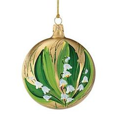 2013 Lily Of The Valley Ornament