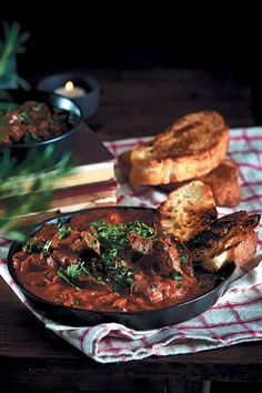 Peri-peri chicken livers with ciabatta toast