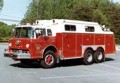 Lorton, VA FD Rescue 10 1973 Ford/Swab Rescue Squad - #3075 - SHDR 20
