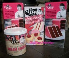 Duff Baking products from Gartner Studios, Yummy! The raspberry filling turns a cake into decadent dessert! Raspberry and rich chocolate need I say more????