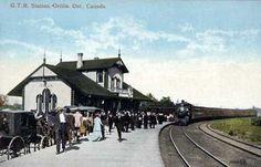 Grand Trunk Railway Publisher: Valentine & Sons, ca. 1910