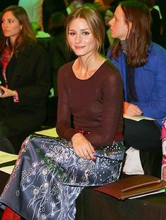 Star Tracks: Wednesday, February 19, 2014 | FRONT & CENTER | Also across the pond for London Fashion Week: newly engaged Olivia Palermo, who snags a prime seat at Monday's Peter Pilotto showing.