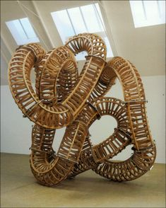 Sculpture by Richard Deacon.