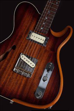 LaRose Guitars | Texas Guitar Luthier | Custom-Built Electric Guitars | 1 Ton Hollow Boy