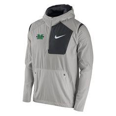 Marshall Thundering Herd Nike Speed Fly Rush Half-Zip Pullover Jacket - Anthracite