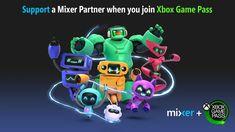 Mixer pagará aos streamers que indicar o Xbox Game Pass em seu canal Video Game News, News Games, Mixer Games, Xbox One, Microsoft Support, Game Streaming, Game Pass, Xbox Games, Cultura Pop