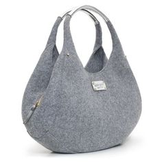 Inspiration Kate Spade Grey Felt Bag. yum