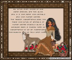 Free native American Greetings | Indepenent Individuality Picture for Facebook