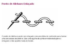 Tramas e Pinturas - O artesanato na internet.: 100 pontos de bordado - de A a Z