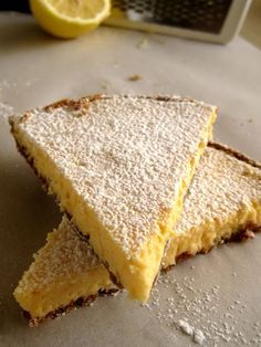 The one with all the tastes: A simple but lovely lemon tart Greek Sweets, Greek Desserts, Party Desserts, Dessert Recipes, Lemon Recipes, Greek Recipes, Easy Cooking, Cooking Recipes, Cheesecake