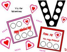 Magnet/Dauber  Pages for Valentines Theme - repinned by @PediaStaff – Please Visit http://ht.ly/63sNt for all our pediatric therapy pins