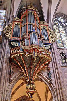 Cathedral Notre Dame de Strasbourg - Organ
