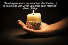 Forgiveness #quote from David Ridge. Check out these 9 other Forgiveness Picture Quotes.