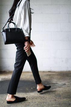 8f2986c6065 Top - Just Female Trousers - Topshop Shoes - Mango Bag - Givenchy Mini  Antigona Bracelet - Celine