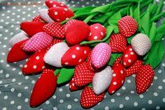 szmacianki dla Julki i Mańki Cotton Dreams / Handmade cotton tulips