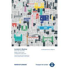 London`s Skyline Poster