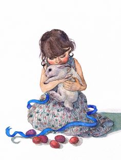 Easter card  watercolor art Illustration illustrator card postcard egg girl cute girls drawing graphic rabbit bunny dress draw painting paint cute funny funny pictures easter easter card пасха открытки иллюстратор иллюстрация кролик девочка ребёнок художник