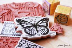 Galletas decoradas con sellos de goma o 'Rubber Stamps' {Foto Tutorial}