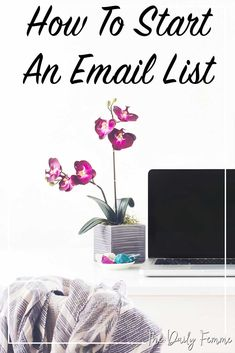 Your email list is one of the most valuable assets you own. If you don't have one already that's ok, I'll walk you through how to start an email list as well as how you can rapidly grow your email list for your blog and business.