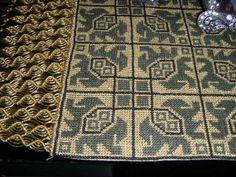 Cross Stitch Embroidery, Diy And Crafts, Greek, Rugs, Fabrics, Decor, Farmhouse Rugs, Tejidos, Decoration