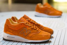"""Concepts x New Balance Made in USA 997 as seen in their """"Luxury Goods"""" Pop-up Store in NYC #sneakers"""